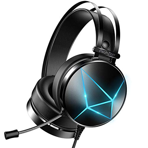 PeohZarr Gaming Headset Xbox One Headset PS4 Headset, PC Gaming...