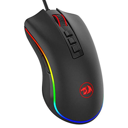 Redragon M711 Cobra Gaming Mouse with 16.8 Million RGB Color Backlit,...