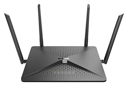 D-Link WiFi Router, AC2600 MU-MIMO Dual Band Gigabit 4K Streaming and...