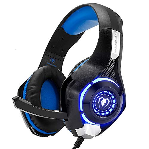 Gaming Headset for PS4 Xbox One PS5 Switch PC Mac with Crystal Stereo...
