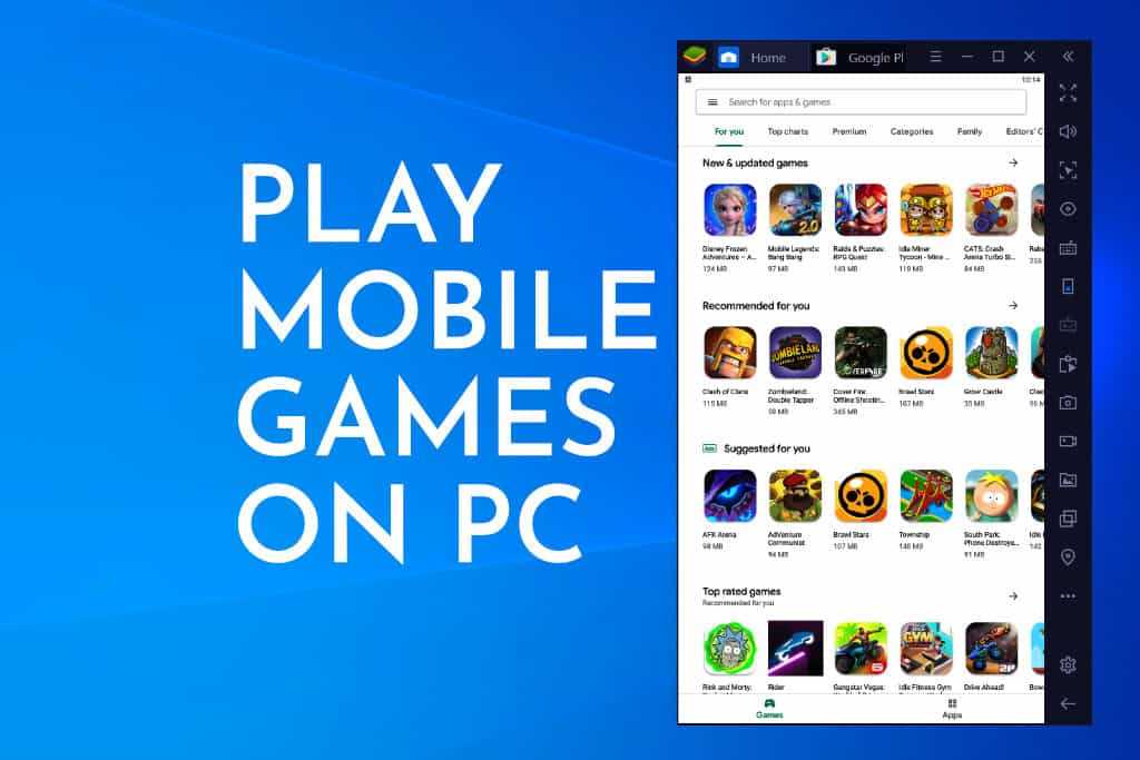 Mobile Gaming On Pc